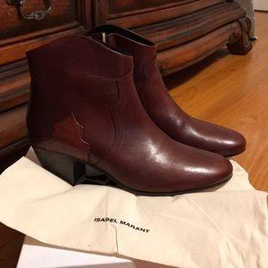 Isabel Marant Dicker booties